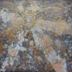 La bonne étoile 46x38 cm, technique mixte, CP