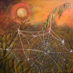L'araignée 60x60 cm