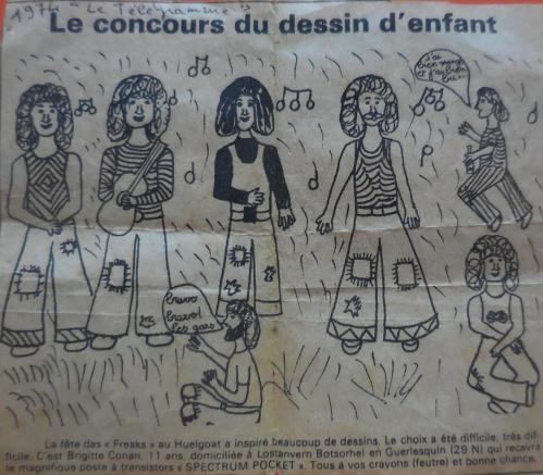 Dessin d'enfant, Brigitte Conan 11 ans
