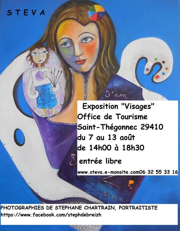 Affiche exposition Saint-Thégonnec