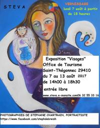 Invitation vernissage de saint thegonnec