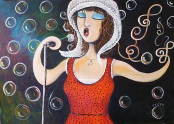 La cantatrice
