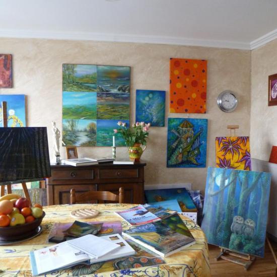 Mon salon-galerie