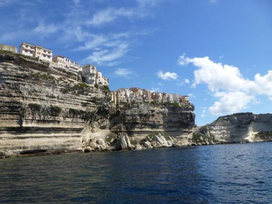 Bonifacio, une vue surréaliste! Photo de Steva