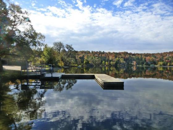 Lac de Sainte-Agathe-Des-Monts, Laurentides