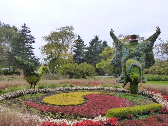 MosaÏculture Montréal 2013 au jardin botanique