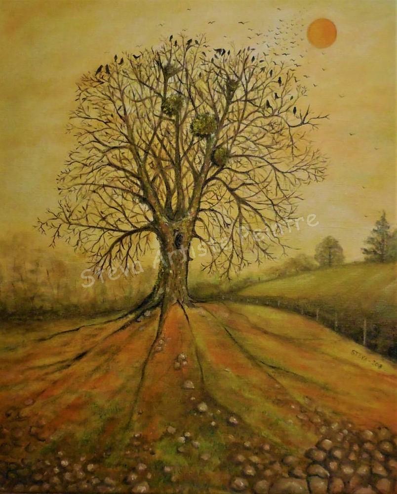 arbre aux oiseaux 10f CP 2016