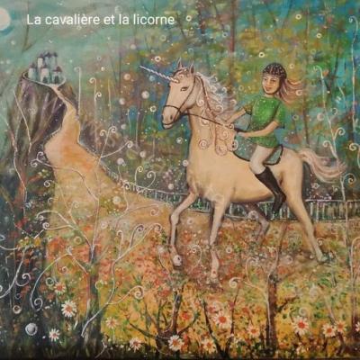 Cavaliere et licorne