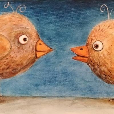 La conversation des poissonneaux