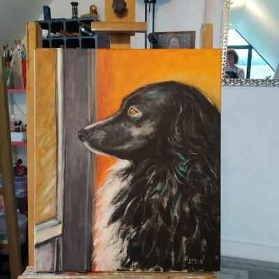 Portrait d'Oscar à L'atelier