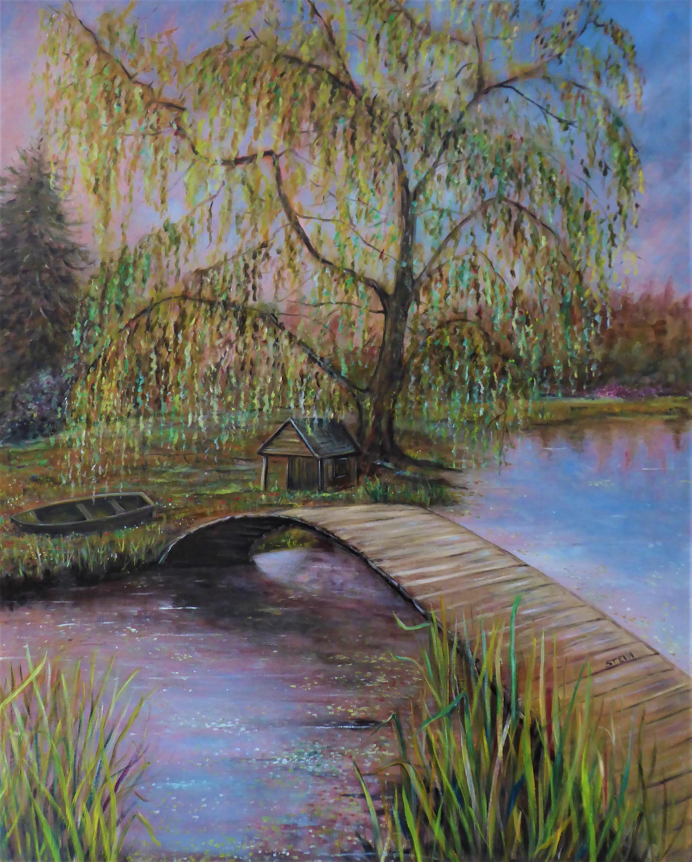 Paysage au petit pont 2021