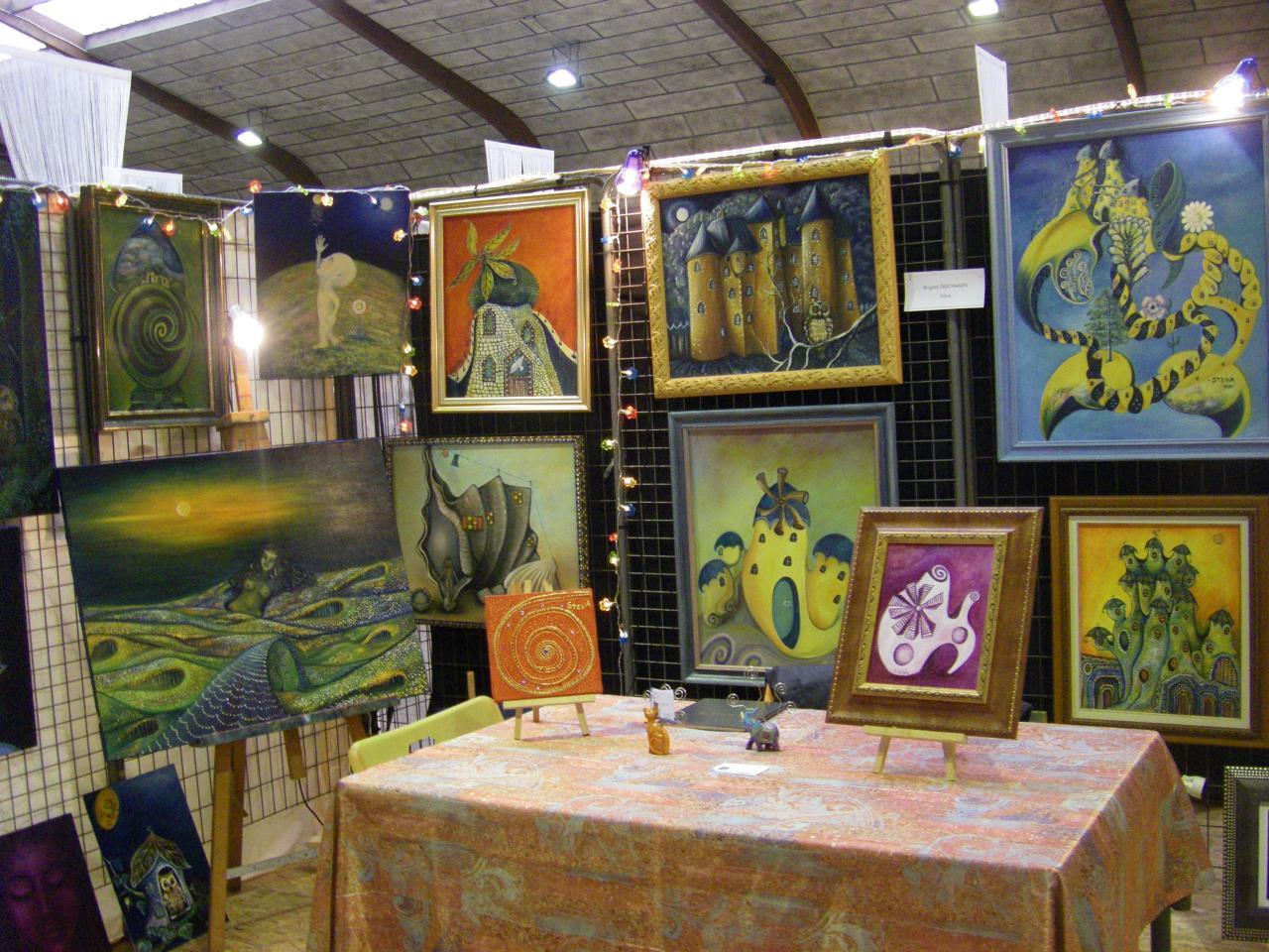 Salon La Brède région bordelaise en 2008