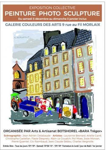 Affiche couleurs des Arts Morlaix