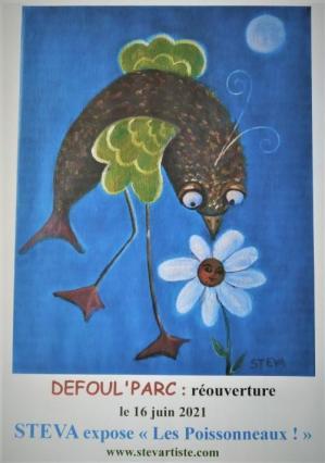 Affiche Défoul'Parc