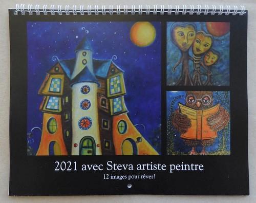 calendrier une année avec Steva