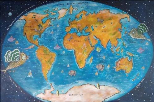 Les Poissonneaux découvrent notre monde