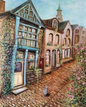 Une maison rue du Jerzual à Dinan